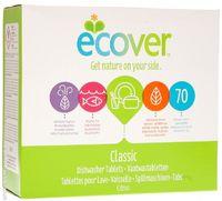 ECOVER Таблетки для посудомоечной машины экологические 1400гр (70шт) (А)