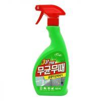 PIGEON  BISOL Чистящее средство для ванной от плесени (с ароматом трав), 500мл.