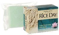 CJ Lion Мыло туалетное Rice Day, экстракт лотоса, 100 гр (А)