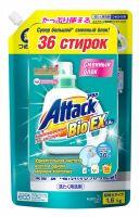KAO Attack BioEX Концентрированный универсальный гель для стирки, (сменный блок), 1.6 кг. (А)