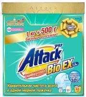 KAO Attack BioEX Концентрированный стиральный порошок, 1,5 кг (А)