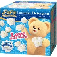NISSAN Fa Fa   Концентрированный стиральный порошок с кондиционером для детского белья, с цветочным ароматом, коробка 900г. (А) (+4)
