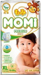MOMI Premium  подгузники-трусики XL ( 12-20 кг), 36 шт (А)