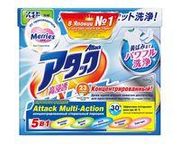 KAO Attack Multi-Action Концентрированный стирал. порошок с пятновыводителем и кондиционером,900 гр (А)
