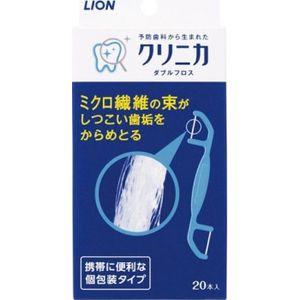 """LION Зубная нить двойная """"Clinica Sponge Floss"""", двухсторонняя, 20 шт."""