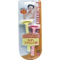 """Feather Бритвенный станок для тела с одним лезвием с защитой от порезов """"Flamingo T""""  2шт."""