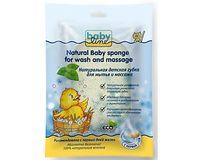 BABYLINE Губка для мытья и массажа из натуральных волокон растения (А)