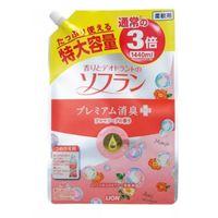 LION Soflan Кондиционер для белья Арома мыло, мягкая упаковка, 1440 мл (А) (+)