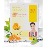 """DERMAL Косметическая маска с коллагеном и витамином С """"Витамин С"""" 23гр."""