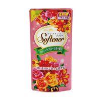 """NIHON    """"Softener premium rose""""  кондиционер для белья дезодорирующий с антибактериальным эффектом и богатым ароматом роз, МУ, запаска 500мл"""