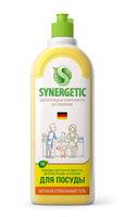 Synergetic Средство концентрированное для мытья посуды и фруктов ЛИМОН, флакон, 1 л (А)