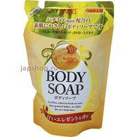 """NIHON   """"Wins Body Soap honey""""  Увлажняющее крем-мыло для тела с мёдом, М/У, запасной блок 400мл"""