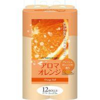 FUJIEDA SEISHI Туалетная бумага двухслойная, аромат апельсина 27,5 м, 12 рулонов (А)