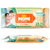 MOMI Family Extra SizeДетские влажные салфетки  24 шт. (300х200mm) (А)