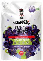 KENSAI Средство моющее синтетическое жидкое (концентрированный гель) для стирки черного белья с ароматом смородины 800 мл. (А)