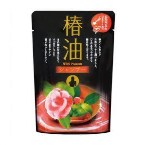 """NIHON  """"Wins premium camellia oil shampoo""""    Премиум шампунь с эфирным маслом Камелии, М/У 400мл."""