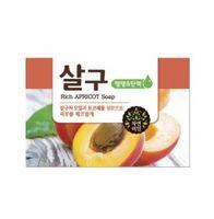 "MUKUNGHWA ""Rich Apricot""  Восстанавливающее мыло с маслом абрикоса, кусок,100гр."