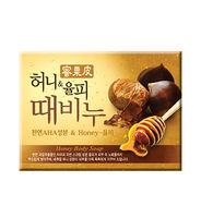 """Мыло для тела  с медом и скорлупой каштанов Honey Body Soap""""  кусок. 100гр."""