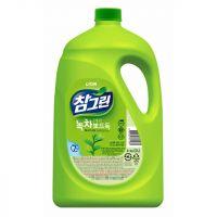"LION Средство для мытья посуды, овощей и фруктов ""CHAMGREEN"" Зеленый чай, флакон, 3830 мл (А)"