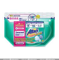 KAO Attack BioEX Концентрированный стиральный порошок, (сменный блок), 900 гр. (А)