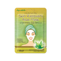 Advin  Skin recovery  Восстанавливающая маска для лица  Aqualette  с экстрактом Алоэ Вера, 17мл.