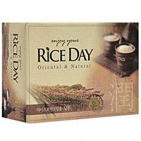 CJ Lion Мыло туалетное Rice Day, экстракт рисовых отрубей, 100 гр(А)