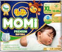 MOMI Premium Night подгузники-трусики XL ( 12-20 кг), 22 шт (А)