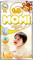 MOMI Premium  подгузники-трусики L ( 9-14 кг), 42 шт (А)