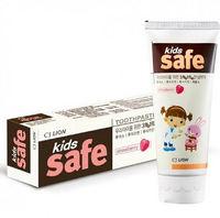 """CJ Lion Детская зубная паста """"Kids Safe"""" со вкусом клубники, от 3-х до 12 лет, 90 гр."""