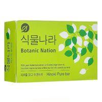 CJ Lion Мыло туалетное Botanical Nation, экстракт японского кипариса, 100 гр