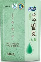 """CJ Lion Средство для мытья посуды Chamgreen Pure Fermentation """"Растительные ферменты"""" мягкая упаковка 300 мл"""