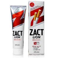 """CJ Lion  Зубная паста """"Zact plus"""" с эффектом отбеливания кофейного и никотинового налета, 150 гр. (А) (+1)"""
