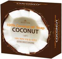 Mukunghwa Мыло туалетное твёрдое из 100% масла кокоса 100 г