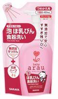 SARAYA ARAU BABY Жидкость для мытья детской посуды 450 мл., запасной блок (А)