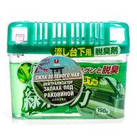 KOKUBO Дезодорант-поглотитель неприятных запахов, экстракт зелёного чая, под раковину, 150 г (А)