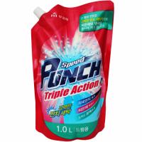 """MUKUNGHWA  Глубокоочищающее жидкое средство для стирки """"Speed Punch Triple Action"""" быстрого действия «Ударная сила» М/У 1 л."""