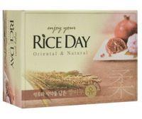 CJ Lion Мыло туалетное Rice Day, экстракт граната и пиона, 100 гр (А)
