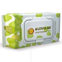Влажные фито-салфетки LOVULAR 80 шт (А)