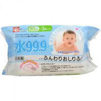 iPLUS Детские влажные салфетки 99,9% воды для рук и лица 80 шт, мягкая упаковка (А)(+)
