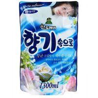 Sandokkaebi Soft Aroma Aqua Blue Кондиционер для белья Свежесть океана, запасной блок, 1300 мл