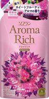 """LION Aroma Rich Кондиционер для белья """"Christine""""с пряным фруктовым ароматом, запасной блок 450 мл."""