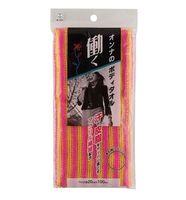 KOKUBO Массажная мочалка для тела, с акриловыми волокнами (женская), 20*100 см