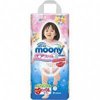 Подгузники-трусики Moony  D. для девочек, 12-17 кг. (38 шт.)