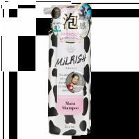 MILRISH Шампунь-уход бессиликоновый с молочными протеинами Увлажнение и Сила, 500 мл (А)