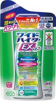 KAO Attack WIDE HAITER Powder Type Порошковый кислородный пятновыводитель, (сменный блок),  450 г (А)