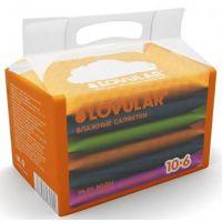 Влажные салфетки LOVULAR набор 6х10 шт (А)