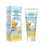 BABYLINE Детская зубная паста со вкусом БАНАНА, от 1 до 4 лет, 75 мл (А)